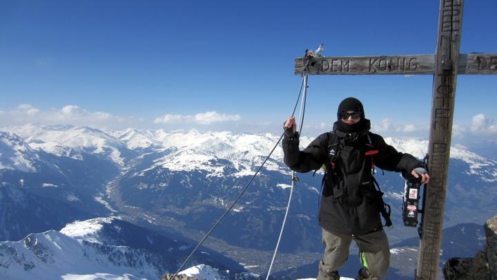 ahornspitz-summit-cross