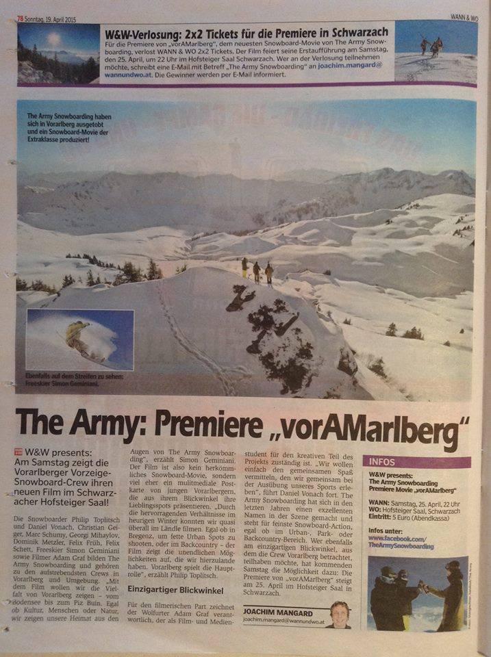 VorAMarlberg-Newpaper